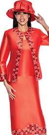 GMI G5383-Red - Womens Church Suits
