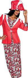 GMI G5663-Red - Womens Church Suits