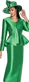 GMI G5793-Emerald - Womens Church Suits