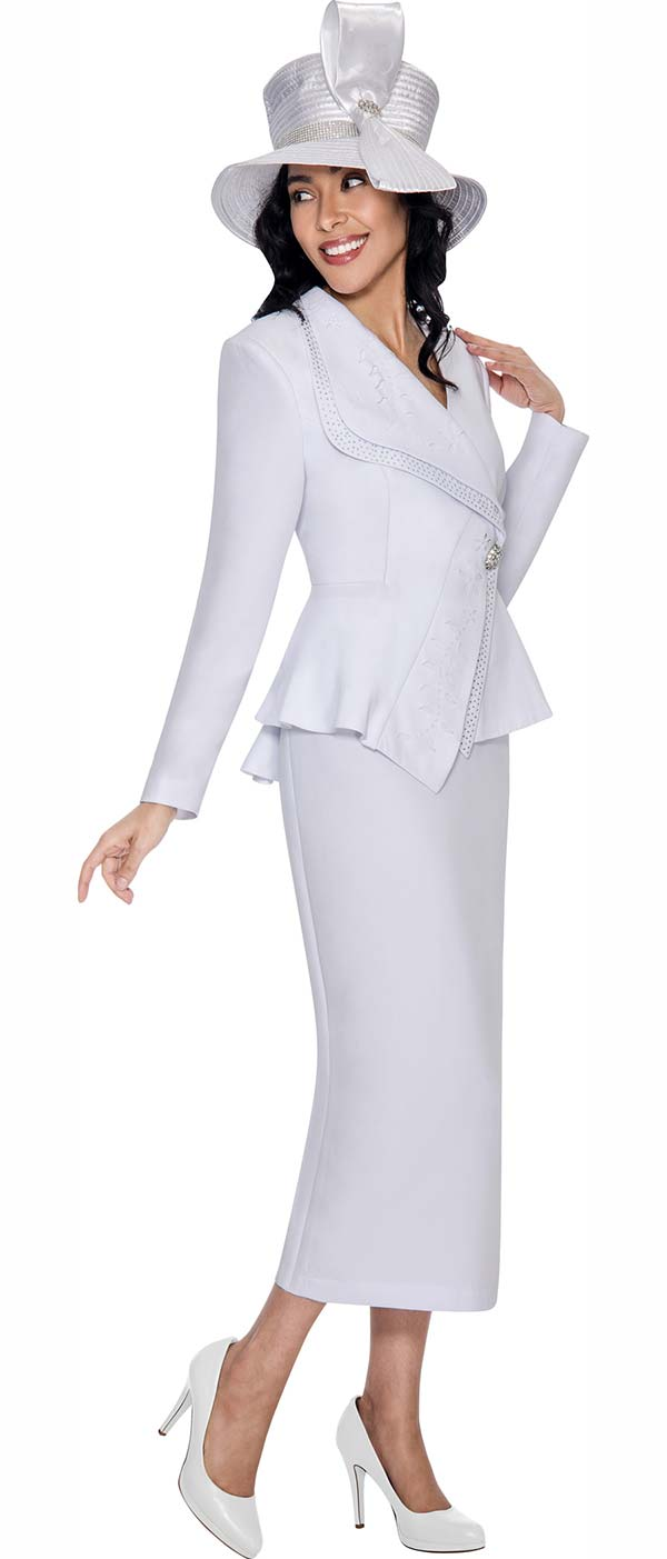 gmi g6292 white womens church suits 2017