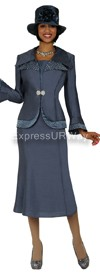 GMI G4292 Charcoal - Womens Church Suits