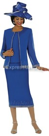 GMI G4393 Royal - Womens Church Suits