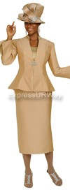 GMI G4703 Champagne / Lt Gold - Womens Church Suits