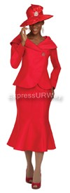 GMI G4712 Red - Womens Church Suits