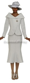 GMI G4712 Silver - Womens Church Suits
