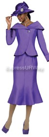 GMI G4712 Purple - Womens Church Suits