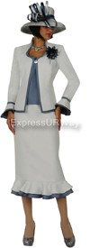 GMI G4773 Silver - Womens Church Suits