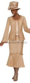 GMI G4813 Champagne - Womens Church Suits