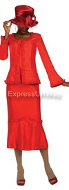 GMI G4813 Red - Womens Church Suits