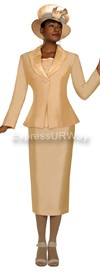 GMI G4923 Gold - Womens Church Suits
