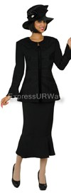 Clearance GMI G4933 Black - Womens Church Suits
