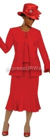 Clearance GMI G4933 Red - Womens Church Suits