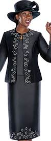 GMI G5383 Black - Womens Church Suits