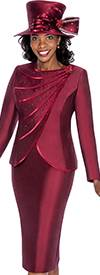 GMI G5412 Bordeaux - Womens Church Suits