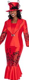 GMI G5443 Red / Black - Womens Church Suits