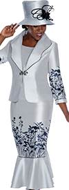 GMI G5443 Silver / Black - Womens Church Suits