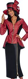 GMI G5482 Red / Black - Womens Church Suits