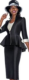 GMI G5493 Black / Silver - Womens Church Suits