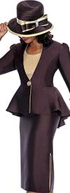 GMI G5493 Brown / Gold - Womens Church Suits
