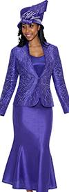 GMI G5533 Bright Purple - Womens Church Suits