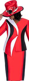 GMI G5542 Red / Black / White - Womens Church Suits