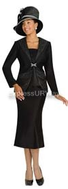 GMI G3872 Black Womens Church Suits