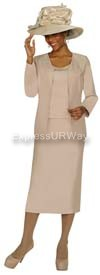 GMI G4303 Champagne Womens Church Suits