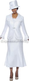 GMI G4292 White - Womens Church Suits
