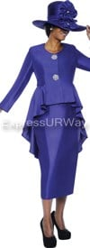 GMI G4322 Purple - Womens Church Suits