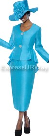 GMI G4322 Turquoise - Womens Church Suits