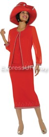 GMI G4393 Red - Womens Church Suits