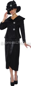 GMI G4572 Black - Womens Church Suits