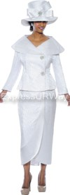 GMI G4572 White - Womens Church Suits