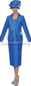 GMI G4622 Royal - Womens Church Suits