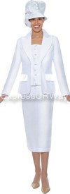 GMI G4622 White - Womens Church Suits