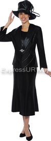 GMI G4633 Black - Womens Church Suits