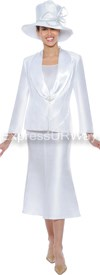GMI G4633 White - Womens Church Suits