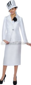 GMI G4662 White - Womens Church Suits