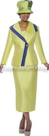 GMI G4662 Citrus / Purple - Womens Church Suits