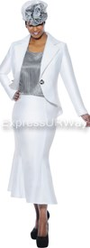 GMI G4673 White / Black - Womens Church Suits