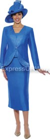 GMI G4733 Royal - Womens Church Suits