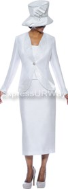 GMI G4733 White - Womens Church Suits