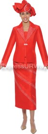 GMI G4742 Red - Womens Church Suits