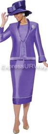 GMI G4753 Purple - Womens Church Suits
