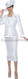 GMI G4753 White - Womens Church Suits