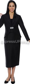 GMI G4783 Black - Womens Church Suits
