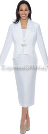 GMI G4783 White - Womens Church Suits