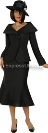 GMI G4712 Black - Womens Church Suits