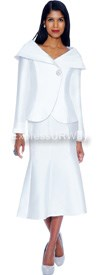GMI G4712 White - Womens Church Suits