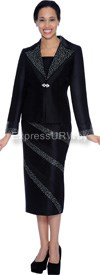 GMI G4742 Black - Womens Church Suits